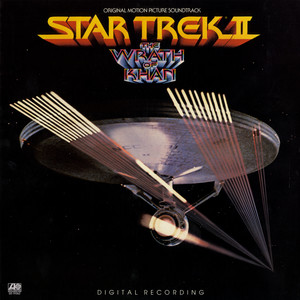 Star Trek II: The Wrath of Khan Original Motion Picture Soundtrack Albumcover