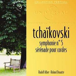 Tchaikovski: Symphonie 5-Sérénades pour cordes Albumcover