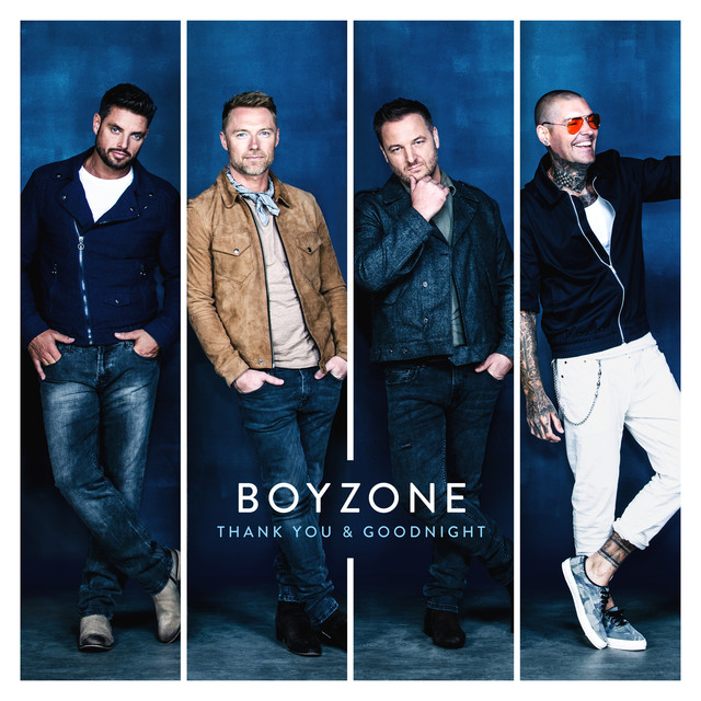 Album cover for Thank You & Goodnight by Boyzone