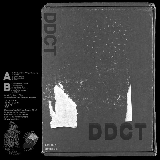 Album cover for Ddct by Aaron Diko