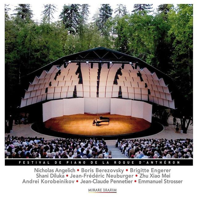Festival international la roque d'anthéron 2008 Albumcover