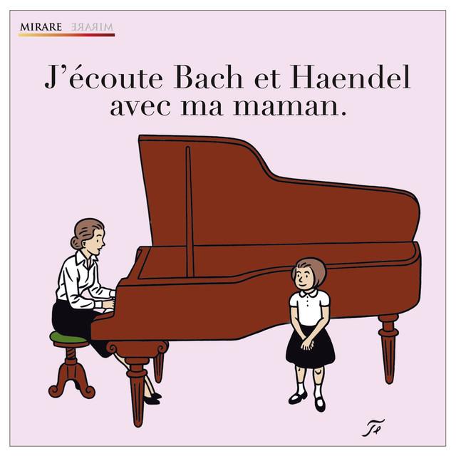 J'écoute Bach et Haendel avec ma maman Albumcover