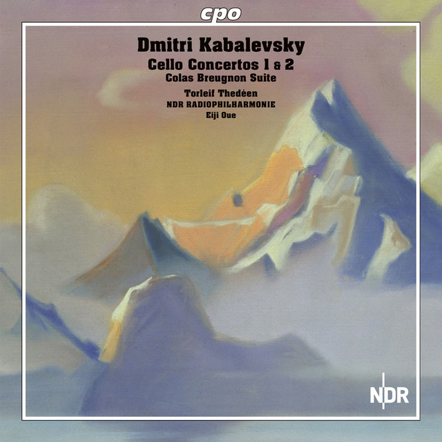 Kabalevsky: Cello Concertos - Colas Breugnon Suite