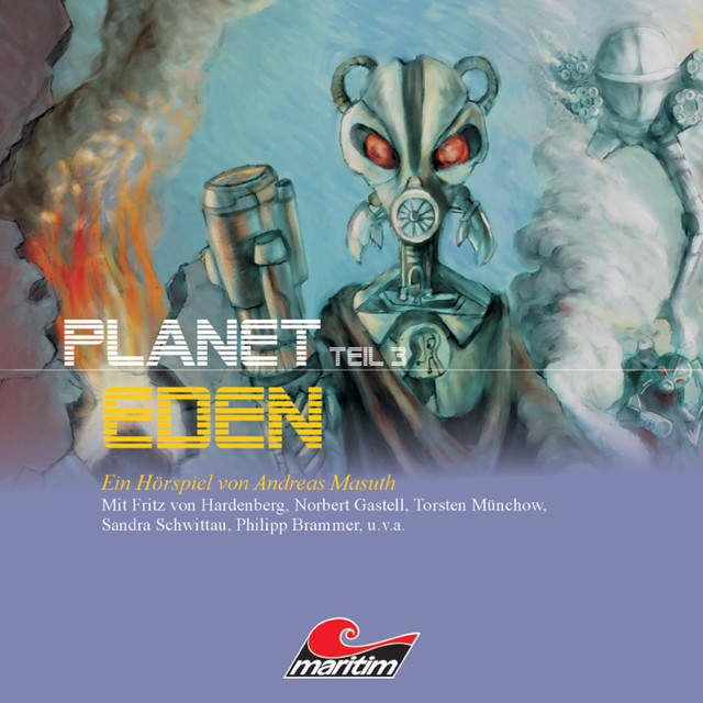Planet Eden, Teil 3 Cover