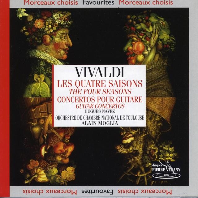 Vivaldi : Les quatre saisons Albumcover