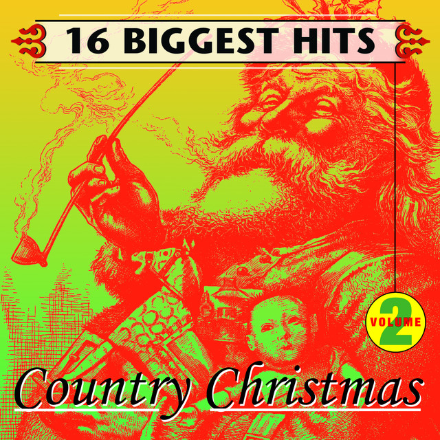 Various Artists Country Christmas Vol. 2 - 16 Biggest Hits album cover