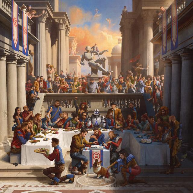 Skivomslag för Logic: Everybody