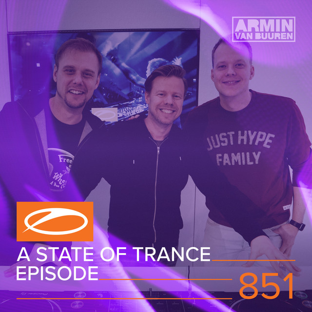 Album cover for A State Of Trance Episode 851 by Armin van Buuren