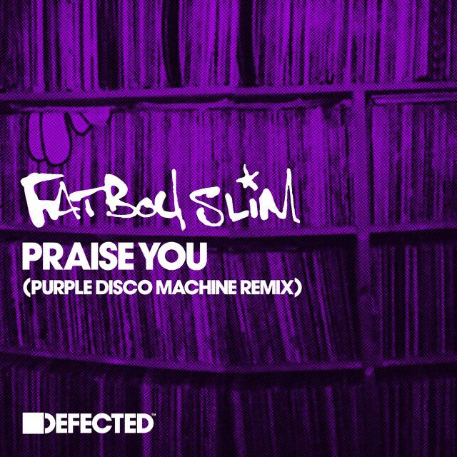 Risultati immagini per fatboy slim praise you purple disco machine COPERTINA