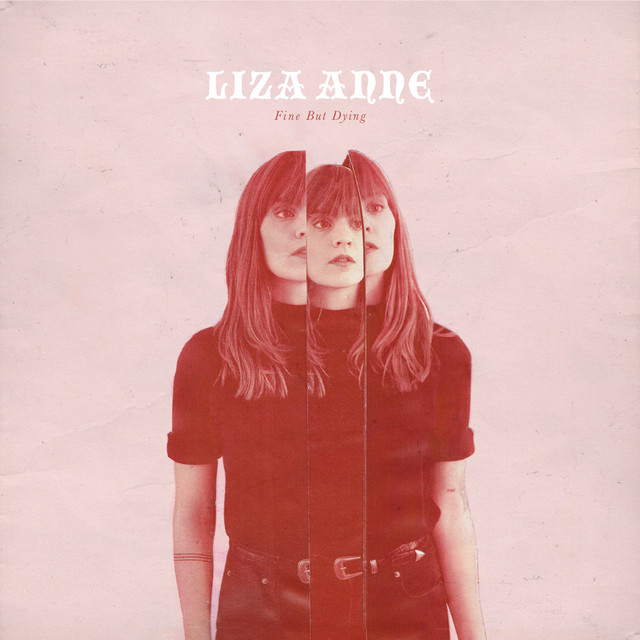 Album cover for Fine But Dying by Liza Anne