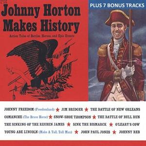 Johnny Horton Makes History album