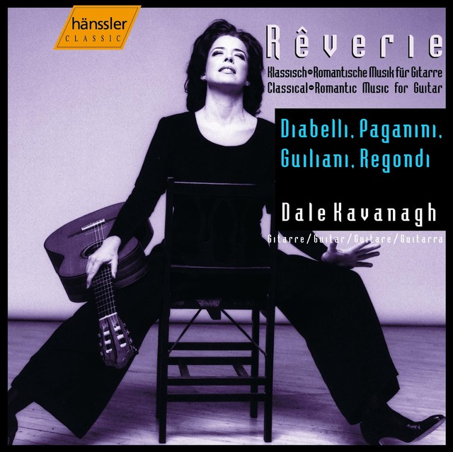Kavanagh, Dale: Classical-Romantic Music for Guitar Albumcover