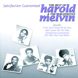 Satisfaction Guaranteed - The Best Of Harold Melvin & The Bluenotes album