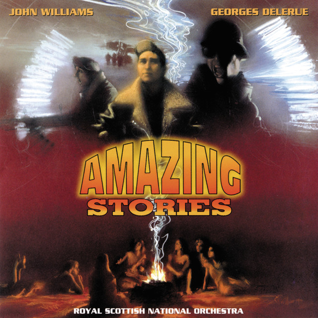 Amazing Stories (Music From The Original TV Series) Albumcover