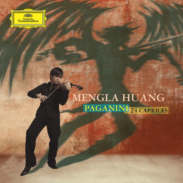 MENGLA HUANG - PAGANINI: 24 CAPRICES Albumcover