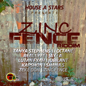 Zinc Fence Riddim Albumcover