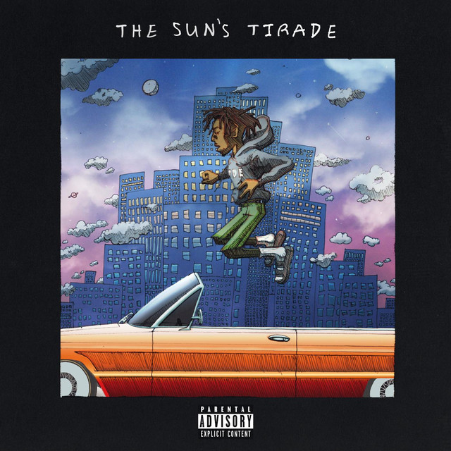Album cover for The Sun's Tirade by Isaiah Rashad