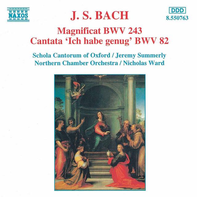 Bach, J.S.: Magnificat in D Major, Bwv 243 / Ich Habe Genug, Bwv 82