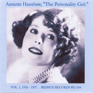 The Personality Girl, Vol. 1: 1926-1927 album