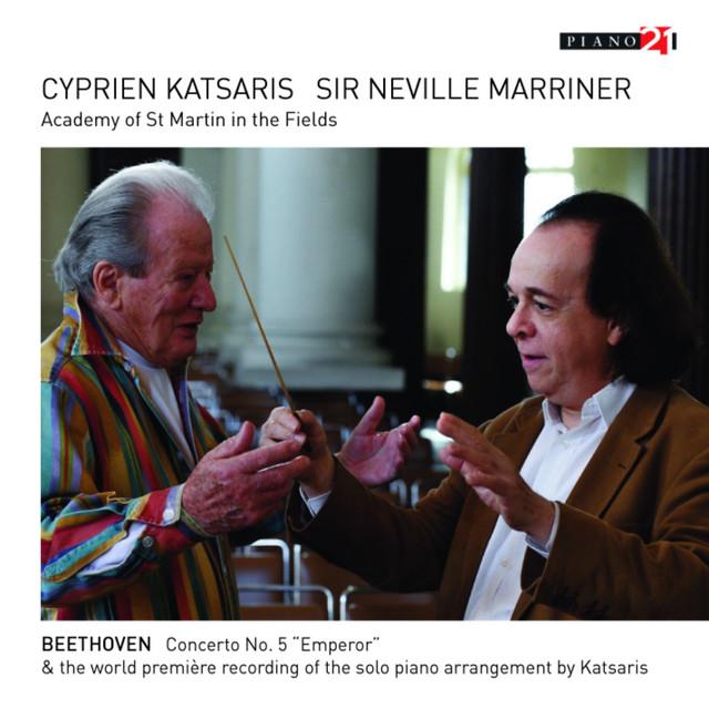 "Beethoven: Concerto No. 5 ""Emperor"" (World Premiere Recording of the Solo Piano Arrangement by Katsaris)"