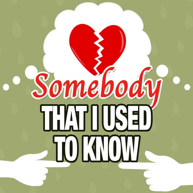 Somebody That I Used to Know Albumcover