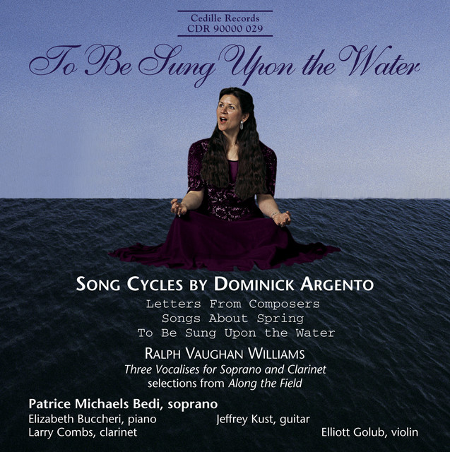 Argento: Letters From Composers / Vaughan Williams: Along the Field (Excerpts) Albumcover