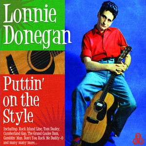 Lonnie Donegan Gamblin' Man cover