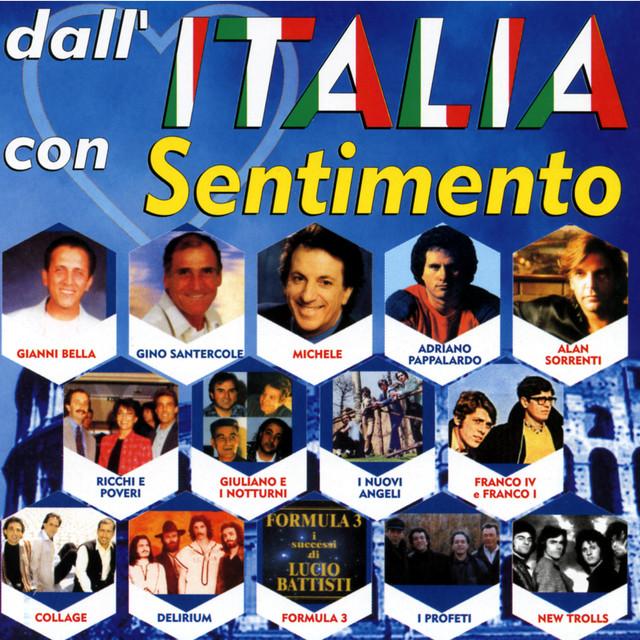 Various Artists Dall'Italia con sentimento album cover