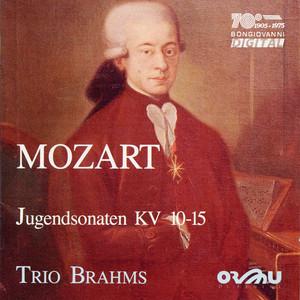 Mozart: Jugendsonaten, KV. 10-15 Albumcover