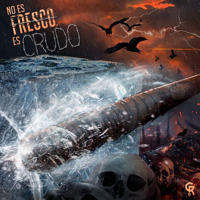 Album cover for No Es Fresco, Es Crudo by Gran Rah