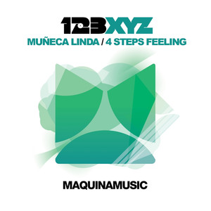 Copertina di 123XYZ - 4 Steps Feeling - Original Mix