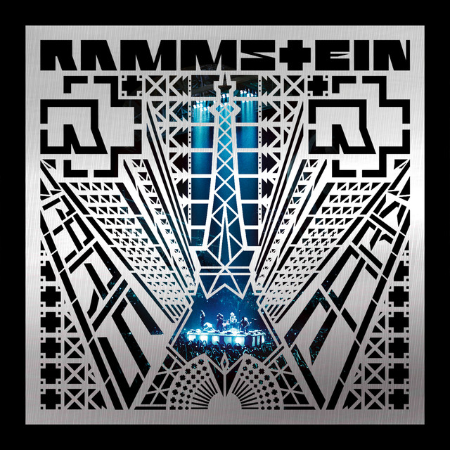 Rammstein PARIS (LIVE) album cover