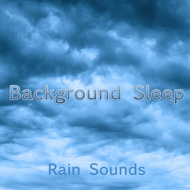 Background Sleep Albumcover