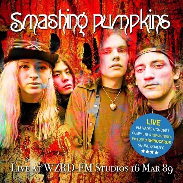 Live At WZRD-FM Studios 16 Mar 89 (Remastered) Albumcover