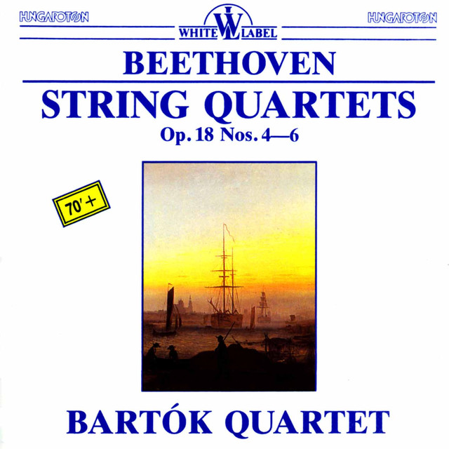 Beethoven: String Quartets, Op. 18, Nos. 4-6 Albumcover