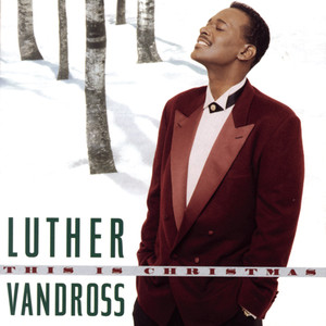 Luther Vandross This Is Christmas cover