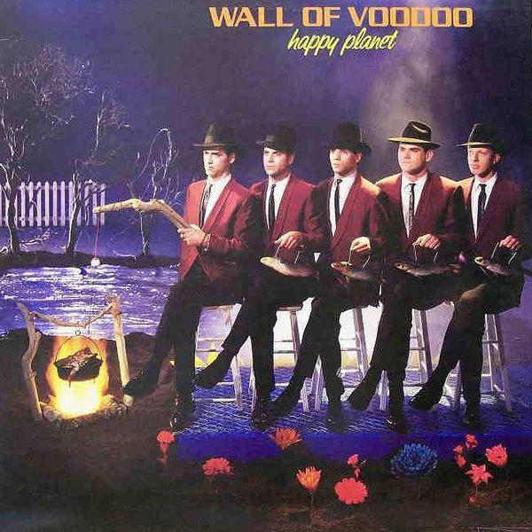 Wall of Voodoo Happy Planet album cover