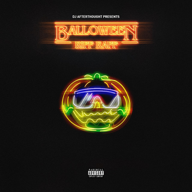 Album cover for Balloween by Riff-Raff, D.j. Afterthought