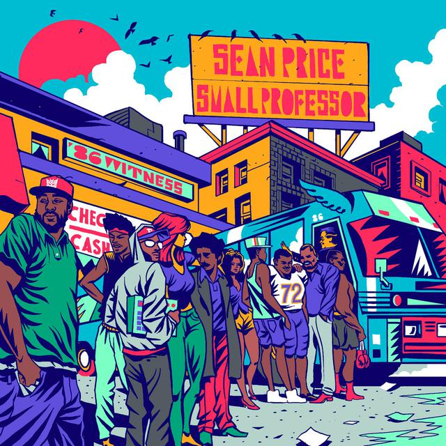 Album cover for 86 Witness by Sean Price, Small Professor