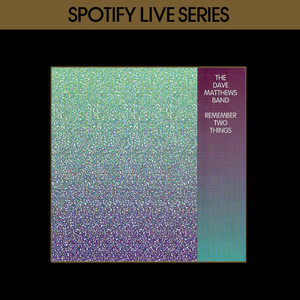 Remember Two Things : Spotify Live Series Albumcover