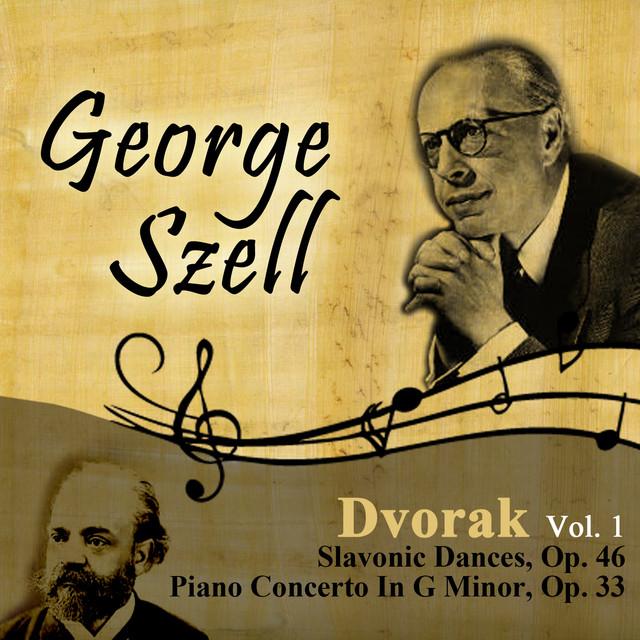 Dvorak, Vol. 1: Slavonic Dances, Op. 46 - Piano Concerto In G Minor, Op. 33 Albumcover