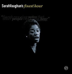 Sarah Vaughan's Finest Hour album