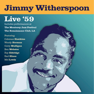Jimmy Witherspoon Time's Getting Tougher Than Tough cover