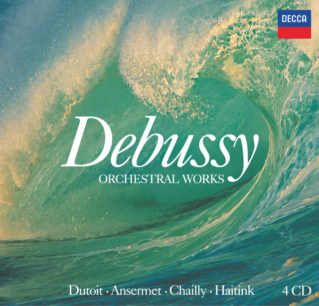 Debussy: Orchestral Works (4 CDs) Albumcover