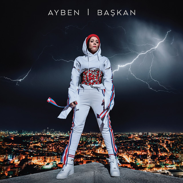 Album cover for Başkan by Ayben