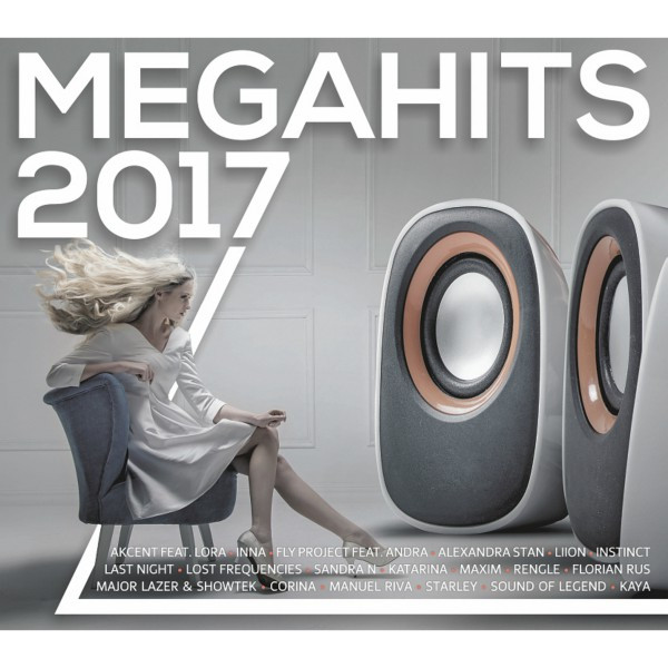 Album cover for Megahits 2017 by Various Artists
