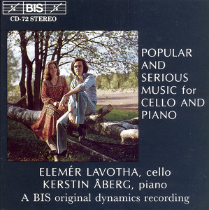 Saint-Saens / Tchaikovsky / Rachmaninov: Popular and Serious Music for Cello and Piano Albumcover
