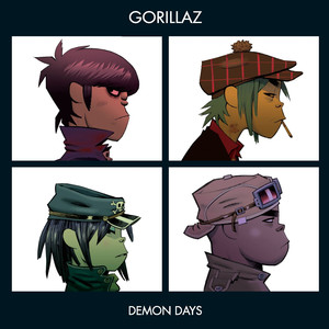 Pochette de l'album Demon Days