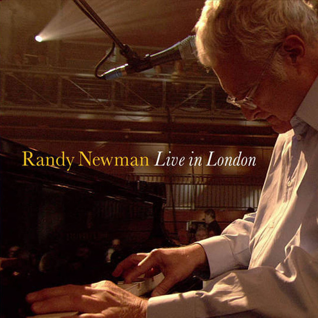 Randy Newman Live in London album cover