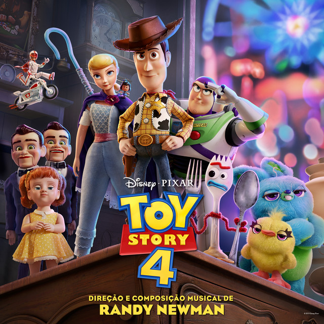 Album cover for Toy Story 4 (Trilha Sonora Original em Português) by Randy Newman